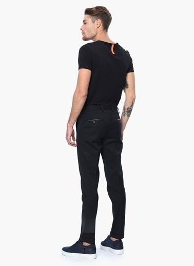 Que Slim Fit Kumaş Pantolon Siyah